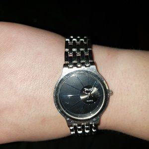 Stylish silver watch